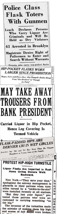 Flask headlines