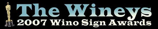 Wino Sign Awards