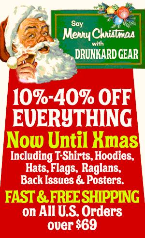Drunkard Gear Xmas Sale