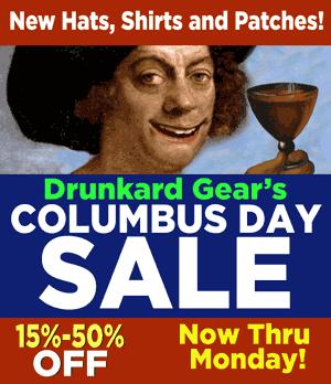 Columbus Day Sale!