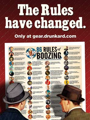 Rules of Boozing